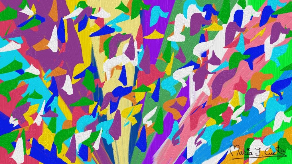 Colors MariaJCuesta. Children's Books. Art. Illustration.