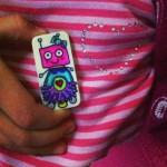 Botjoy MariaJCuesta Robot Courage Joy Hope Strength Luck Heart