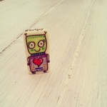 Botjoy MariaJCuesta Robot Courage Joy Hope Strength Luck heart