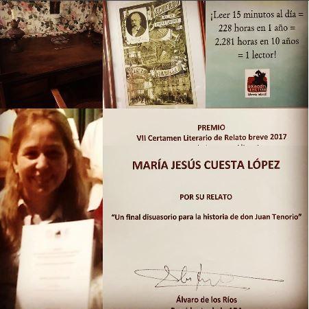 Premio José Zorrilla - María Jesus Cuesta - Don Juan Tenorio